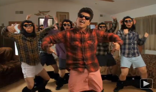 "bruno mars the lazy song. The video for Bruno Mars#39; ""The"