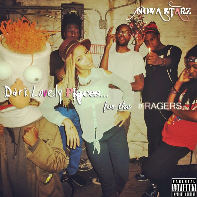 Dark Lovely Places for the Ragers Cover